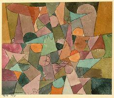 RETROAVANGARDA — Paul Klee – Untitled, 1914