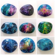 ✨Here are my large Galaxy stones!