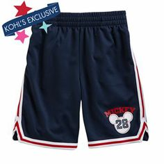 Disney Mickey Mouse Mesh Shorts by Jumping Beans - Boys 4-7x #DestinationSummer #Kohls