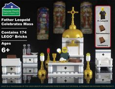 Introducing Father Leopold: The World's Smallest Priest Fr. Leopold is on a mission to share the good news of Jesus Christ with minifigures everywhere. Sporting his brand new clerics and a friendly fa