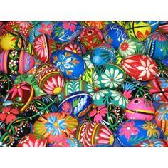 Painted Polish Eggs (Pysanky) Happy Easter!!