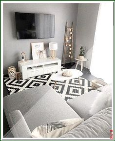 cozy small living room decor ideas for your apartment 00064 Living Room Decoration small living room decorating ideas Living Room Small, Small Living Rooms, Home Living Room, Living Room Designs, Living Room Decor, Dining Room, Decor Room, Bedroom Designs, Modern Apartment Decor