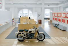 Maharam Offices / Motorcycle