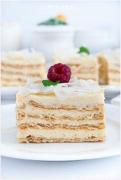 Rafaello na krakersach - I Love Bake Vanilla Cake, Food And Drink, Cook, Cakes, Cake Makers, Kuchen, Cake, Pastries, Cookies