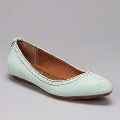 """NEW CALVIN KLEIN Ciela Mint Flats sz 8 Guaranteed Authentic. Org retail: $100. New, never worn. Mark on left shoe, and some staining on right shoe. Cushioned footbed. ~10"""" insole. Open to offers through the offer button ☺️ Calvin Klein Shoes Flats & Loafers"""