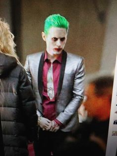 Jared Leto as the Joker | The Suicide Squad (2016) |