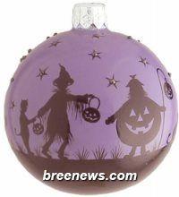 Beguiling Orb (Trick, Trick Treat, Purple) Patricia Breen (Black, Pumpkins, Purple)