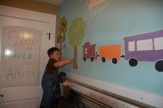 amazing kids activity wall!