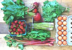 June Seasonal Shopping List & CSA Share
