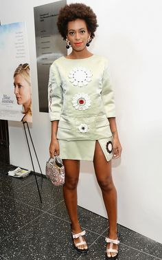 Color Wars: Solange Knowles's 25 Best Outfits Of All Time Cute Summer Outfits, Cool Outfits, Fashion Outfits, Summer Fun, Fashion Ideas, Fashion Tips, Color Wars, Solange Knowles, Love Her Style