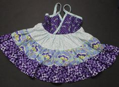 Moda Bake Shop: Lucky Layers Tiered Dress in Size 2T