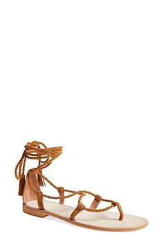 Joie 'Bailee' Lace-Up Sandal (Women) available at #Nordstrom