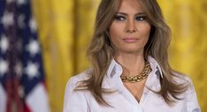 A Melania aide, Stephanie Grisham, tried to discredit the stories of the first lady being upset.