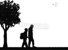 Image result for back view of child with bag