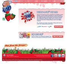 FAB - Design a Fab Den Campaign - 2011 redesign home page