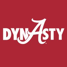 Alabama Crimson Tide DYNASTY
