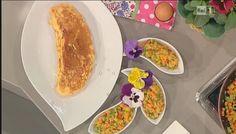 omlette con verdure