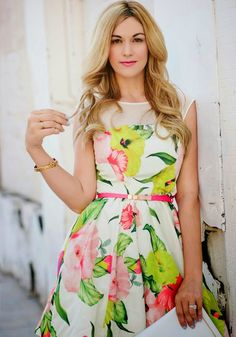 Floral Dress - A Little Dash of Darling