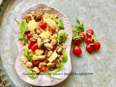 Insalata di quinoa, cozze e fagioli borlotti alesssandra ruggeri Fagioli Borlotti, Pasta Salad, Tacos, Ethnic Recipes, Food, Crab Pasta Salad, Essen, Meals, Yemek