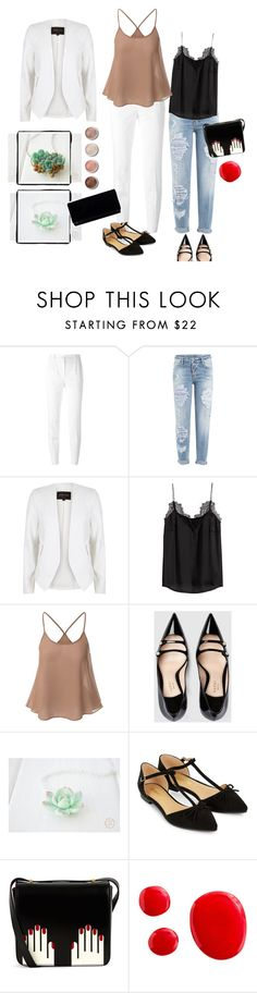 """""""With succulents)"""" by eteniren on Polyvore featuring Dolce&Gabbana, Dsquared2, River Island, H&M, Gucci, Accessorize, Lulu Guinness and Terre Mère"""
