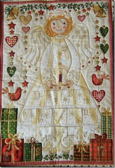 #quilted #angel #advent calendar