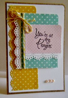 You're in my Prayers - by Lisa Young - Scrapbook.com