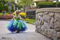 Disney flower girl at Epcot