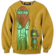 "Presenting ""The Hero"" Sweatshirt by Jouste. Get your Adventure Time Swag on with this bad boy! :)"