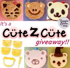 CuteZCute Giveaway on Veggie-Bento.com #bento #cutezcute