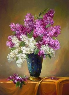 Mobile LiveInternet There would love my lilac ... Artist Anca Bulgaru | tanuuusa - all that interesting to me |