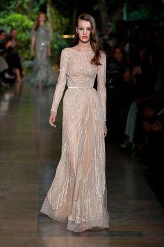 Elie Saab Haute Couture Spring- Summer 2015 Fashion Show – GeorgiaPapadon