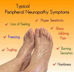 symptoms of nerve disease