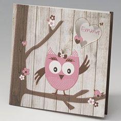 Geboortekaartje uiltje roze - Belarto Happy Baby