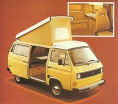 VW Campmobile bus Westy 79' - Buscar con Google
