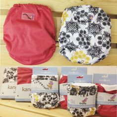 We love this fresh new color and brand new print from Rumparooz - Kanga Care! Spice and Unity are in-stock and ready to ship! Available in one-size G2 Diapers, Lil Joey Newborn Diapers, and Pail Liners.