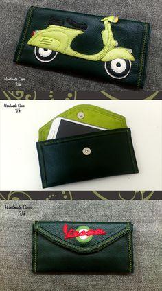 Vespa. Case Synthetic Leather https://www.facebook.com/Vassoartistiko
