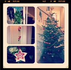 Christmas at Houndgate Townhouse, England -  home to Darlington's first recorded Christmas Tree 160 years ago in 1853.