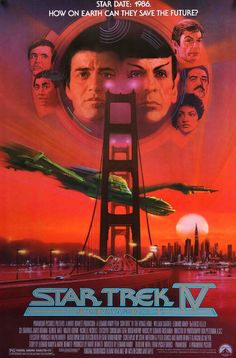 Star Trek IV: The Voyage Home (1986) Original One Sheet Movie Poster