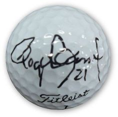Roger Clemens Hand Signed Autographed Titlest Golf Ball Very Rare! GAI GV 273266
