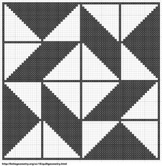 Free Cross Stitch Geometric Pattern 7 by ~carand88 on deviantART