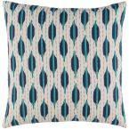 Stedham Poly Euro Pillow, Blue