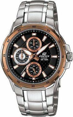 69955c4c33f Casio Men s Edifice Partial Ion Plated Watch EF-337DB-1AVDF Casio.  75.00.