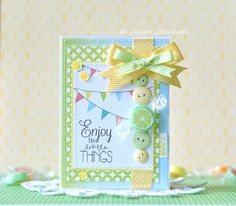 Glitz. Card by Oxana Mihaylova. Candy