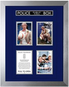 This fantastic 16 x print featuring the Doctor as portrayed by Peter Davison is presented on a conservation quality mount board with beautiful foil… Doctor Who Merchandise, Fifth Doctor, Peter Davison, Police Call, Bbc America, Torchwood, 50th Anniversary, Framed Prints, Friends