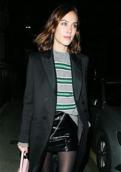 """The One Jumper Alexa Chung Says She's """"In a Relationship"""" With via @WhoWhatWearUK"""