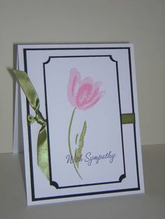 With Sympathy by star - Cards and Paper Crafts at Splitcoaststampers