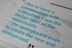 CV & Portfolio Mailer on Behance