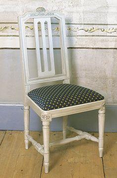 Druvan (gustaviansk stil) - stol från Gustavianska Rummet