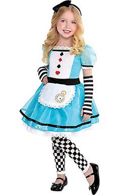 Toddler Girls Wonderful Alice Costume