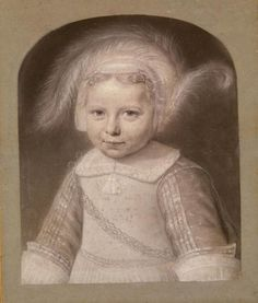 Wallerant Vaillant (1623 – 1677), portrait of Gerbrand Elias (1652-1689), 1653 - Amsterdam Museum
